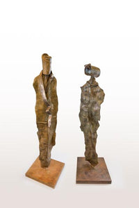 Anita Birkenfeld, Bronze  sculpture, Height 139 cm