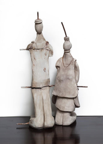 Anita Birkenfeld, Polymer  sculpture, Height 139 cm, Height 50