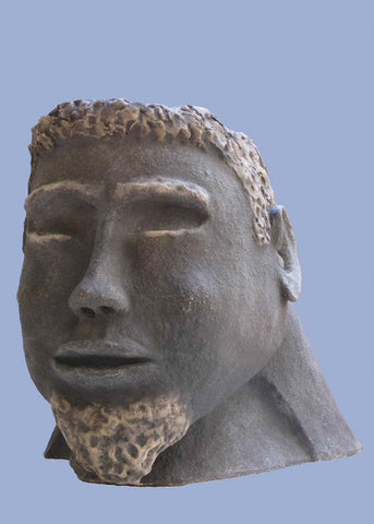 David Gome, clay sculpture, Height 33 cm