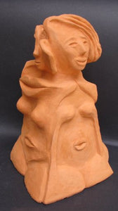 David Gome, clay sculpture, Height, 33 cm