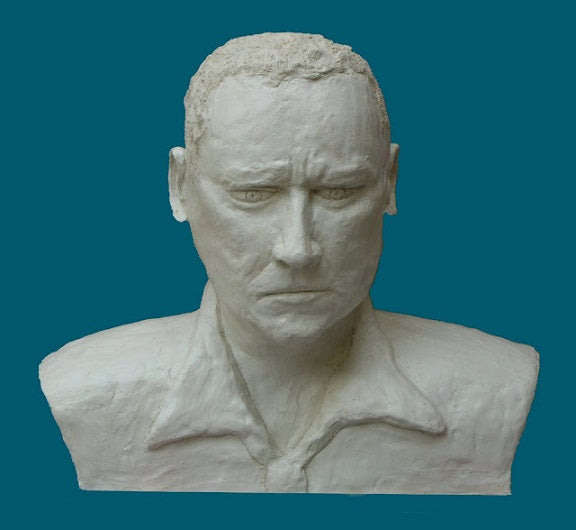 David Gome, clay sculpture, Height 35 cm
