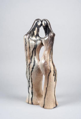 Shaul Elbaz, clay sculpture, Height, 53 cm