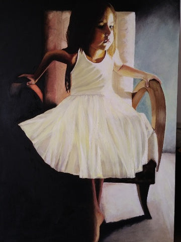Shmulik Yaakobi , oil on canvas, 150 by 100 cm