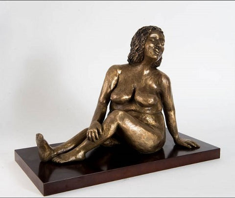 Yael Shavit, Bronze sculpture, Height 37 cm