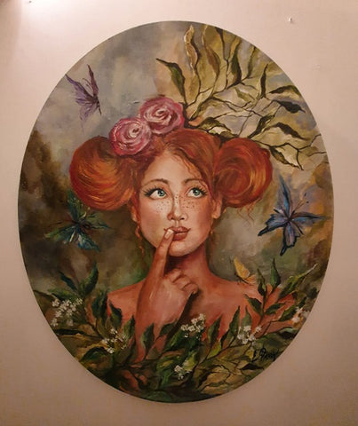 Yelena Falkovsky, oil on canvas, 0 by 0 cm