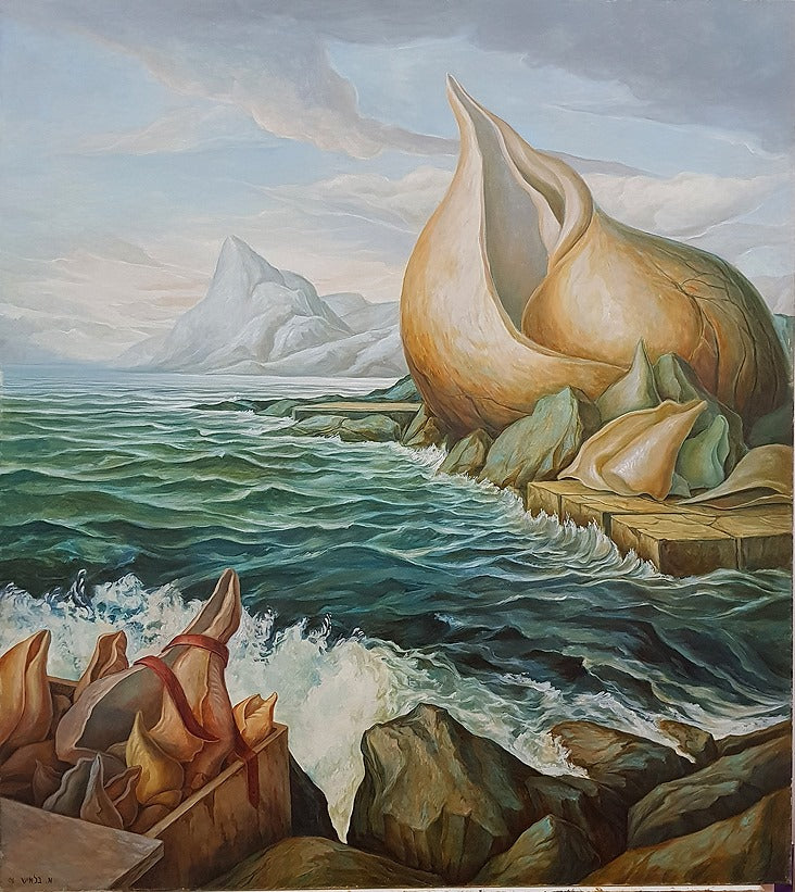 אבי בלאיש | Avi Belaish, oil on canvas, 90  by 80 cm