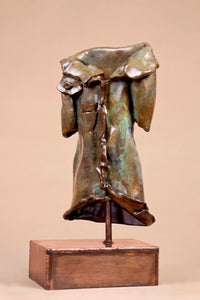 Anita Birkenfeld, Bronze  sculpture, Height 56 cm