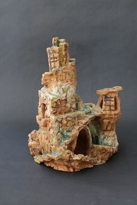 Hana Berger, Clay sculpture,