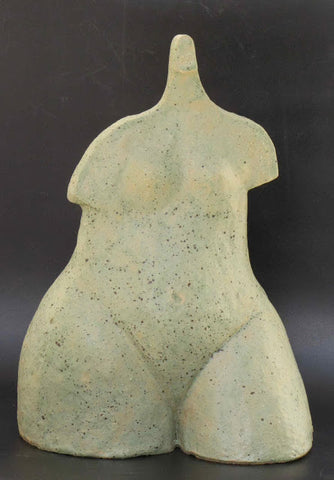 David Gome, A clay sculpture with glaze, Height 30 cm