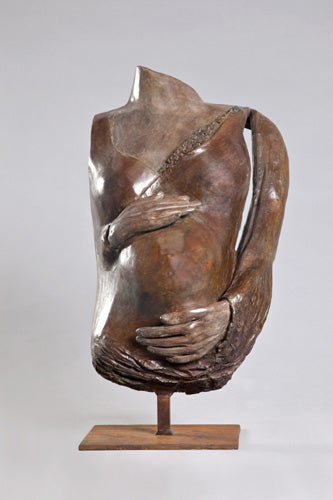 Anita Birkenfeld, Bronze  sculpture, Height 70 cm