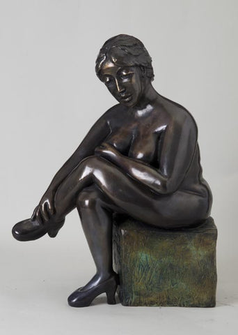 Yael Shavit, Bronze sculpture, Height 46 cm