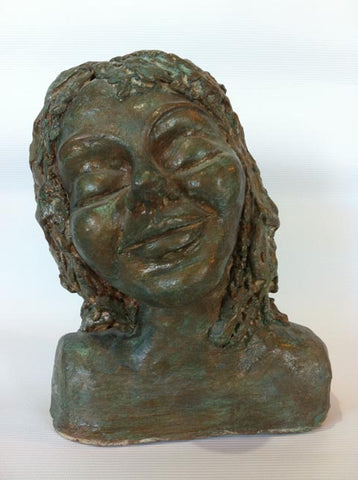 Nomi Berkowiz, clay sculpture