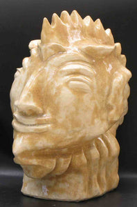 David Gome, A clay sculpture with glaze, Height 28 cm