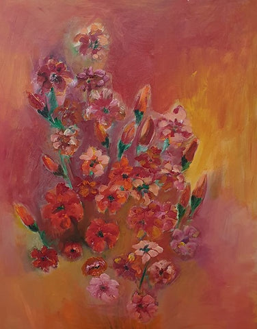 Dalia Lavi, oil on canvas, 90 by 60 cm
