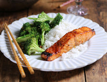 Load image into Gallery viewer, Salmon fillets with sweet chilli