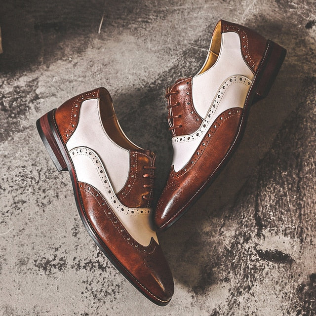 MARQUE Vintage Men's Oxfords - Naxify