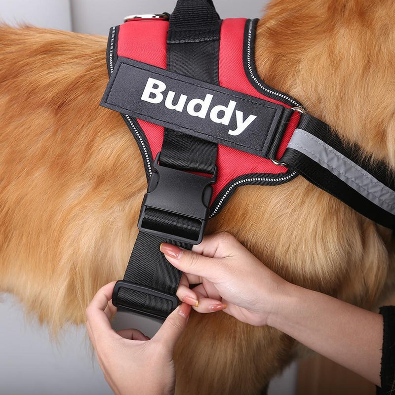 Reflective Personalized Dog Harness - Naxify