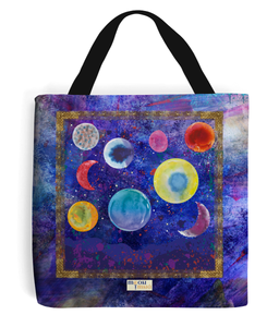 Celtic Moons Tote Bag