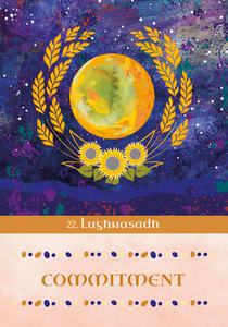 Sacred Ireland Celtic Moon Oracle Card Deck