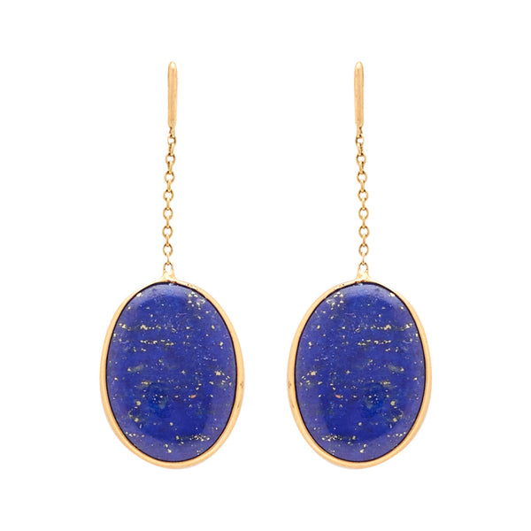 Gold -Semiprecious Earrings -GTSP573