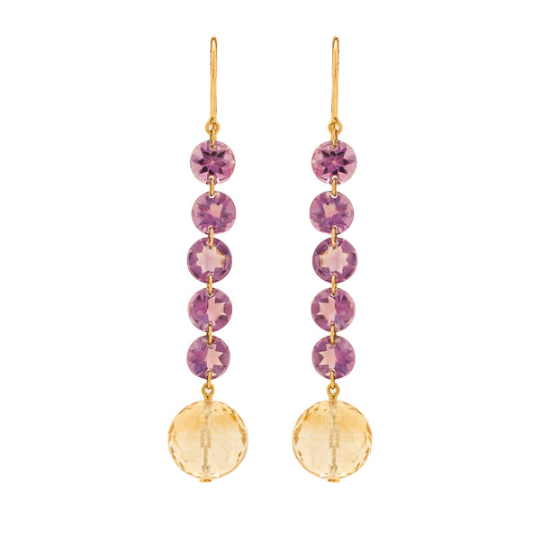 Gold -Semiprecious Earrings -GTSP627