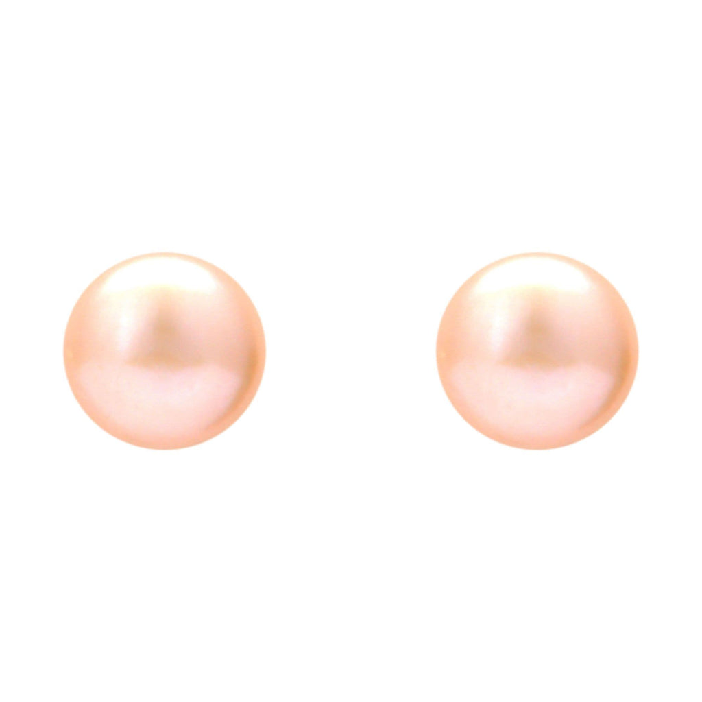 Pink Pearl | Earrings -T0393 KrishnaPearlsandJewellers