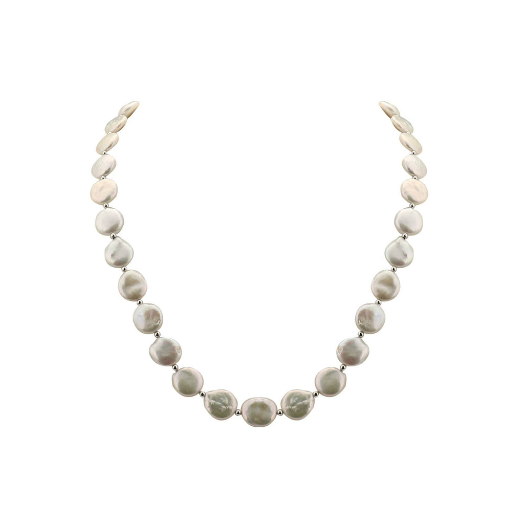 Silver Fancy Mother Pearl String-FS339 KrishnaPearlsandJewellers