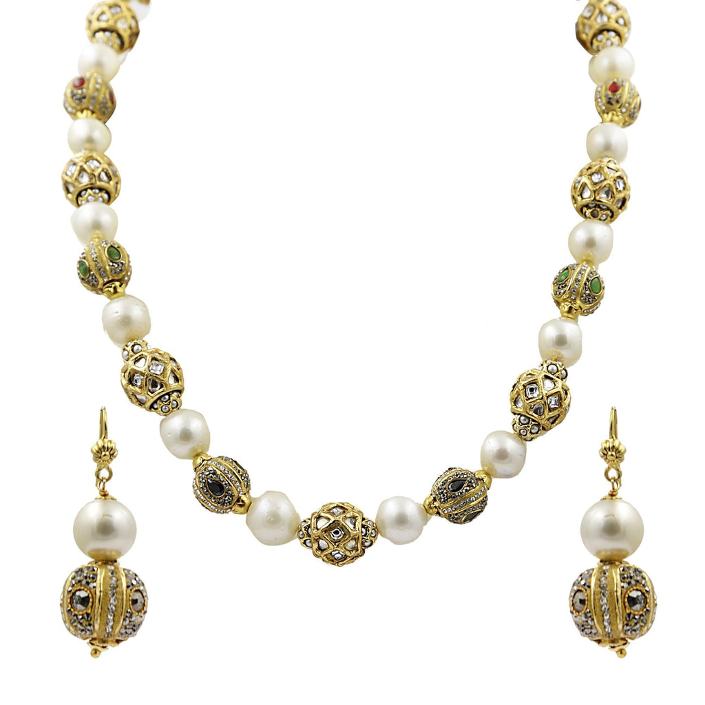 South Sea Pearl -Necklace -H2892 KrishnaPearlsandJewellers