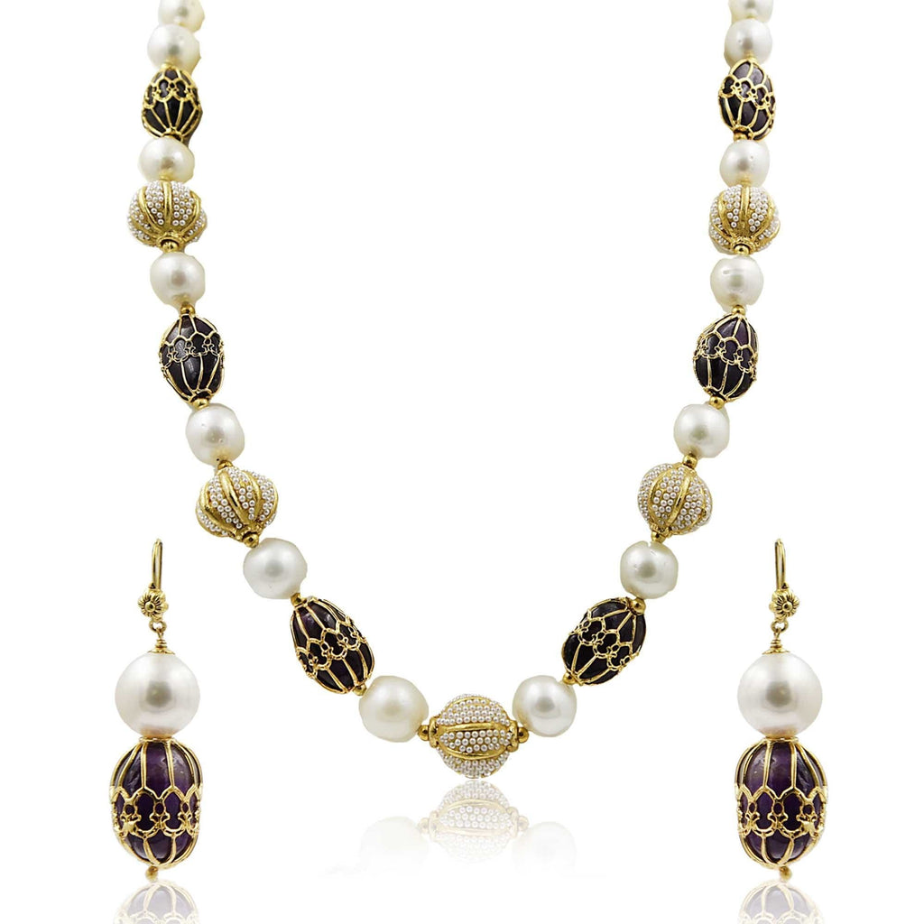 South Sea Pearl -Necklace -H2896 KrishnaPearlsandJewellers
