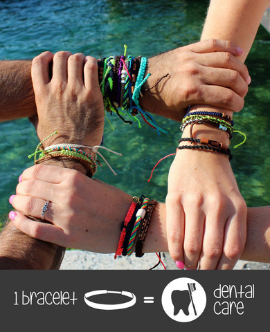 One Bracelet = One Dental Care
