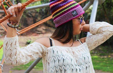 Fair trade alpaca beanie