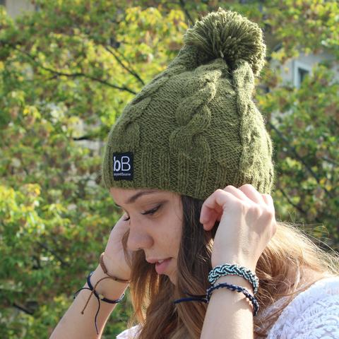 Hand made Beanies that give to charity