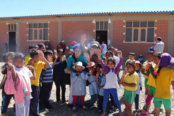 Helping children in Bolivia