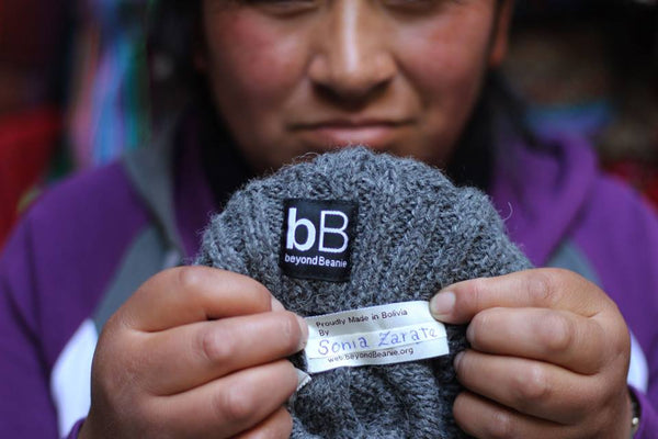 fair trade hat Bolivia