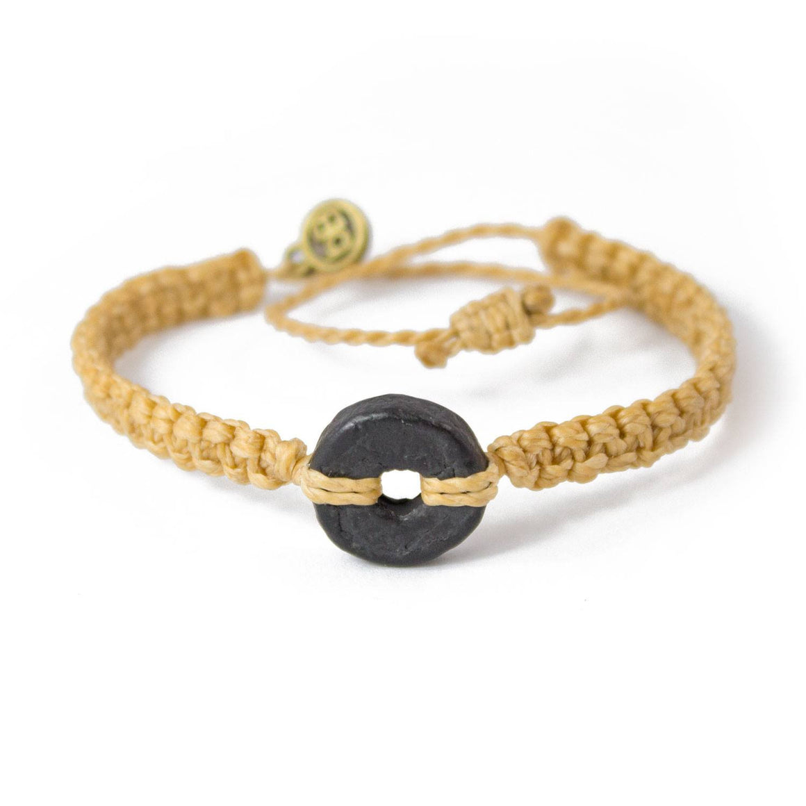 Black Wayta Gold Mustard fair trade bracelets cover