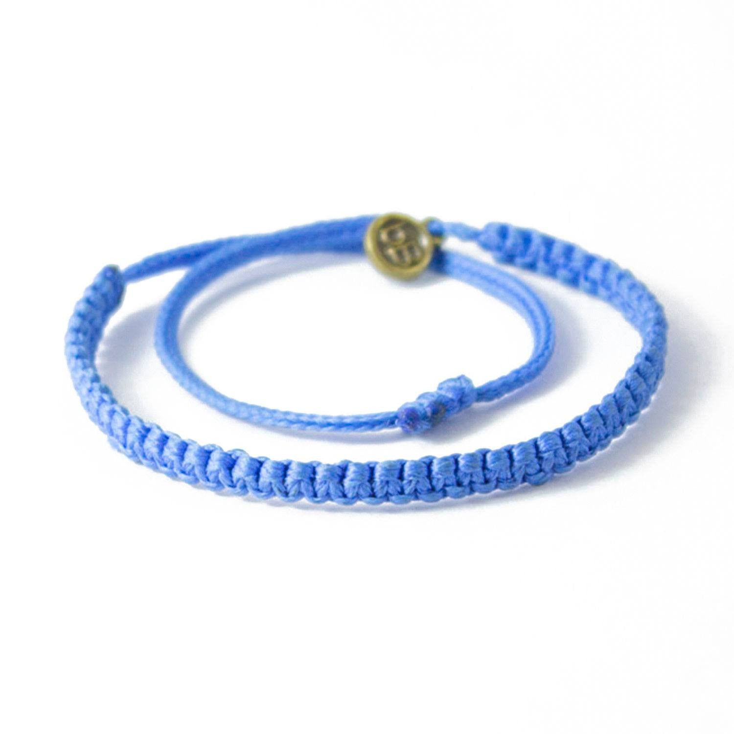 royal bracelet cartier white gold cord blue love adjustable charity