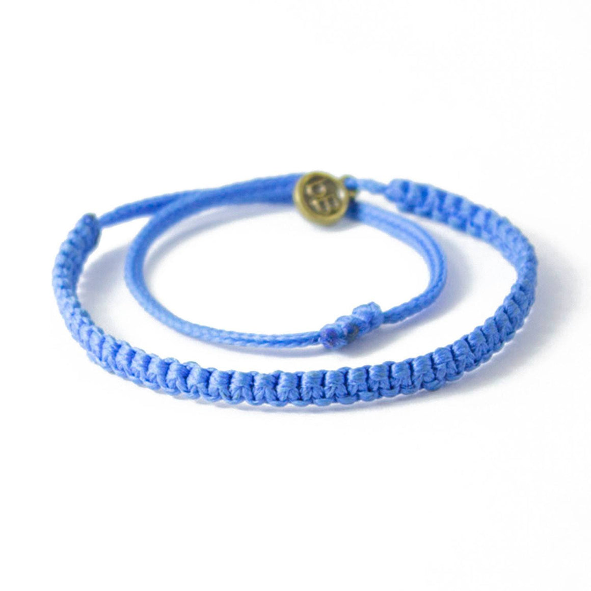 Andel Sky Blue Knotted Charity Bracelet Cover