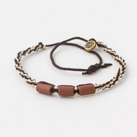 beyondbeanie brown misky coconut, bracelet that empower, beach bracelet