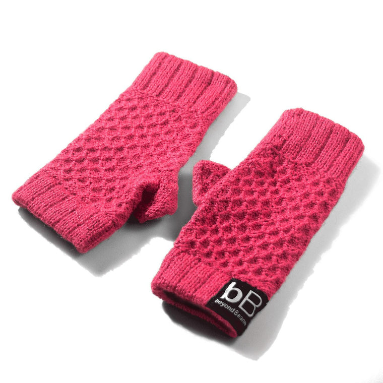 Pink spring time gloves