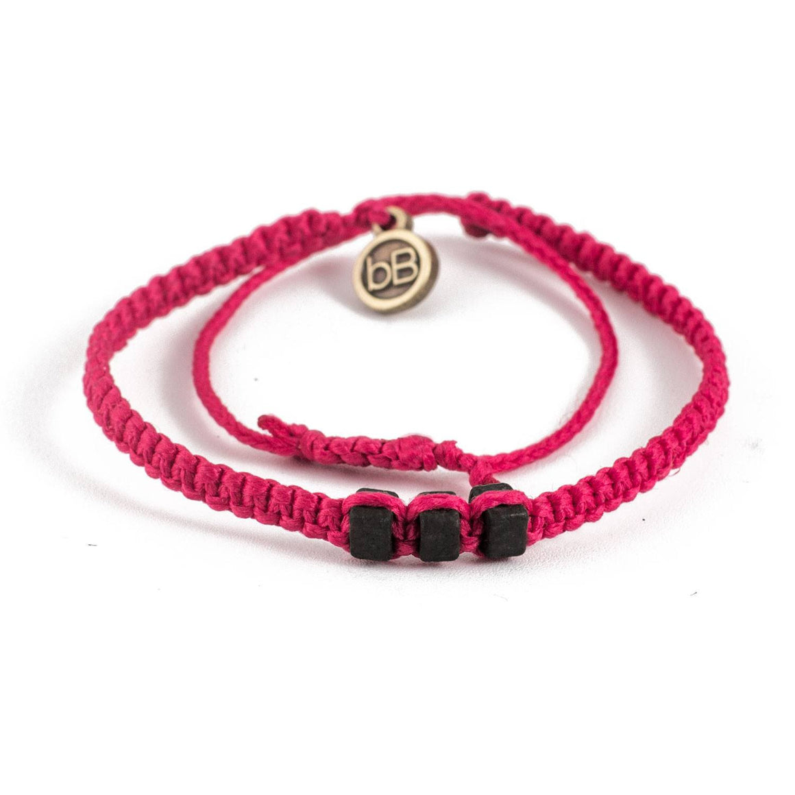 Black Chasqui Strawberry Pink bracelets that help children cover