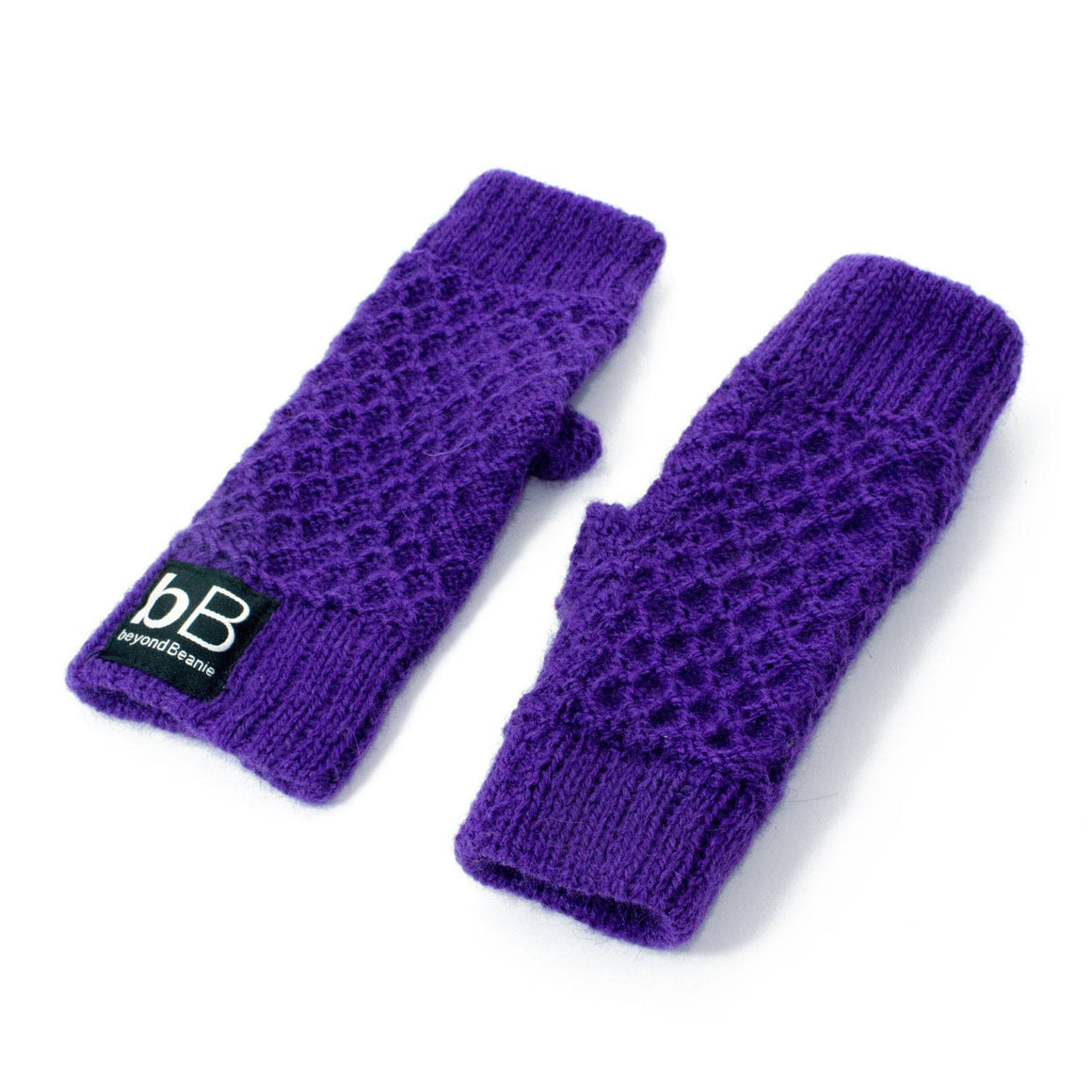 Purple spring time gloves