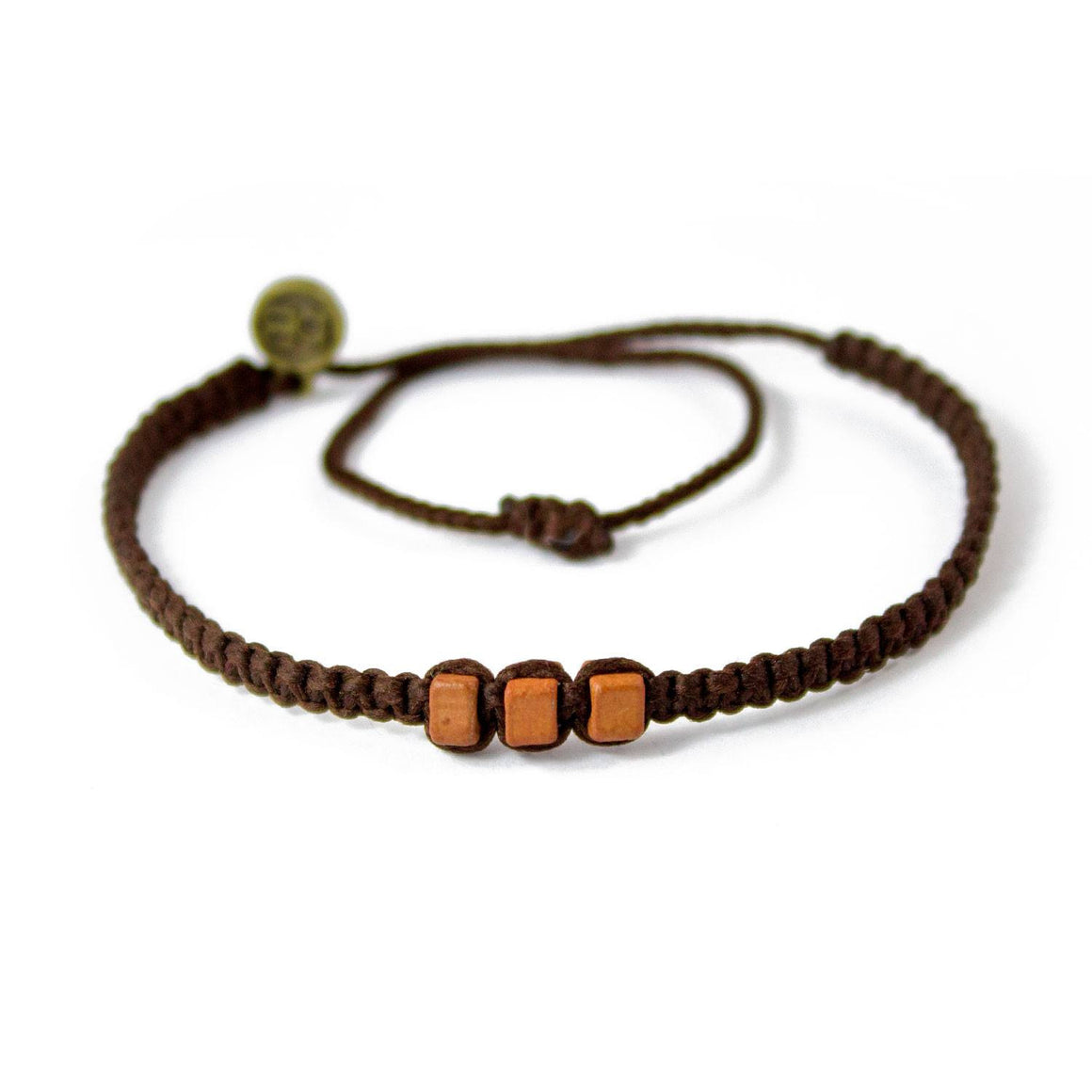 Brown Chasqui Chocolate Brown bracelets that help children cover