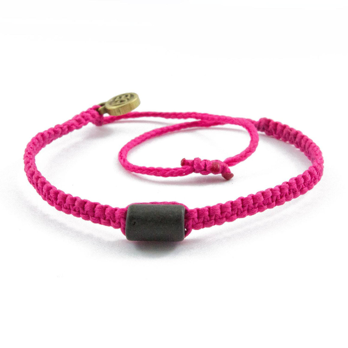 Black Cuzco Candy Pink bolivian bracelets cover