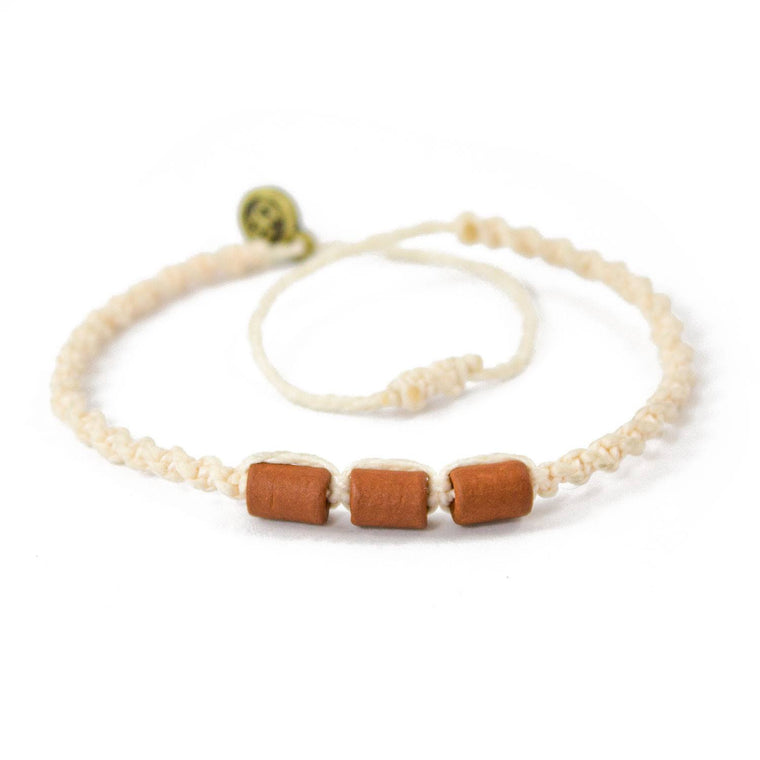 Brown Misky Urban Khaki hippie bracelets cover