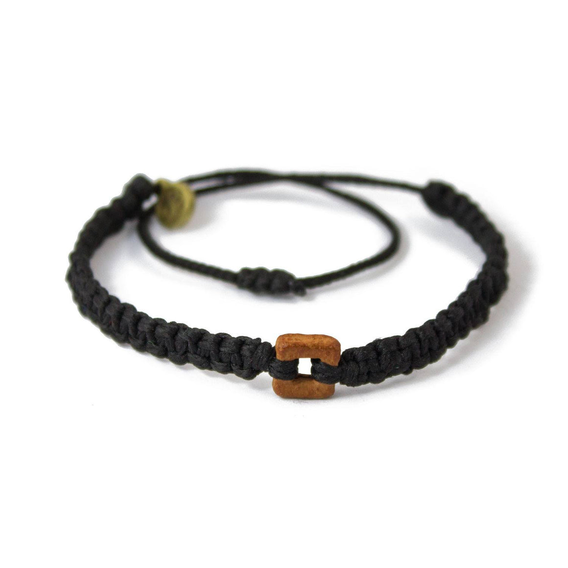 Brown Raymi Carbon Black bracelets that fight poverty cover