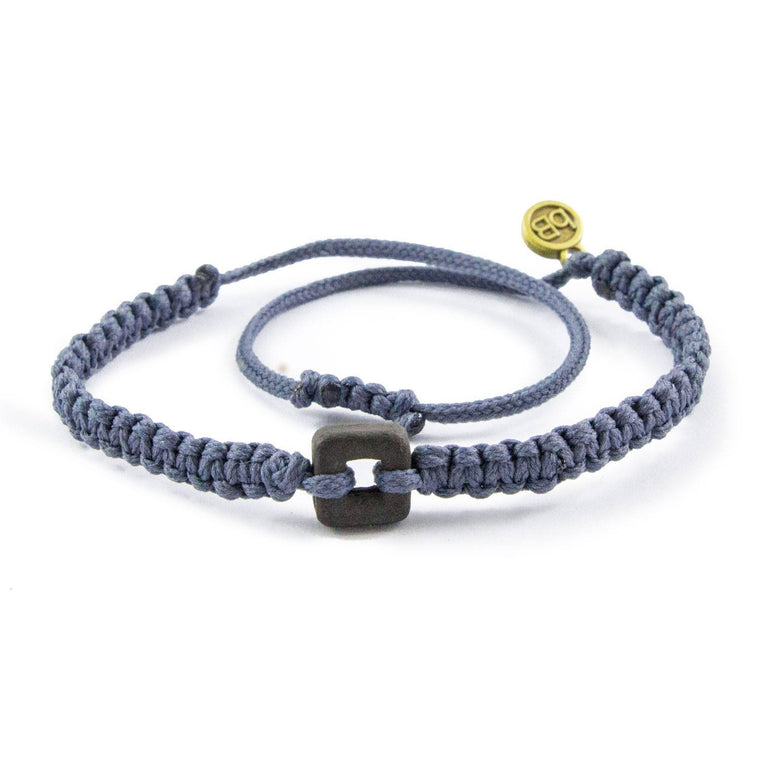 Black Raymi Stone Grey bracelets that fight poverty cover