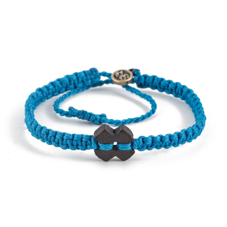Black Tinkus Blue Turquoise donation bracelets cover