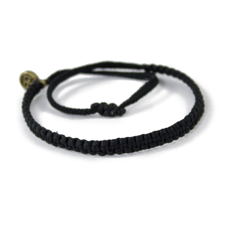 Andel Carbon Black Knotted Charity Bracelet Cover