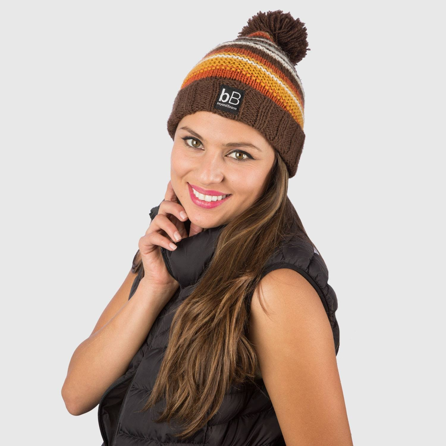3bbbe61fe6b Brown Snow  Handmade Beanies that fight poverty - beyondBeanie