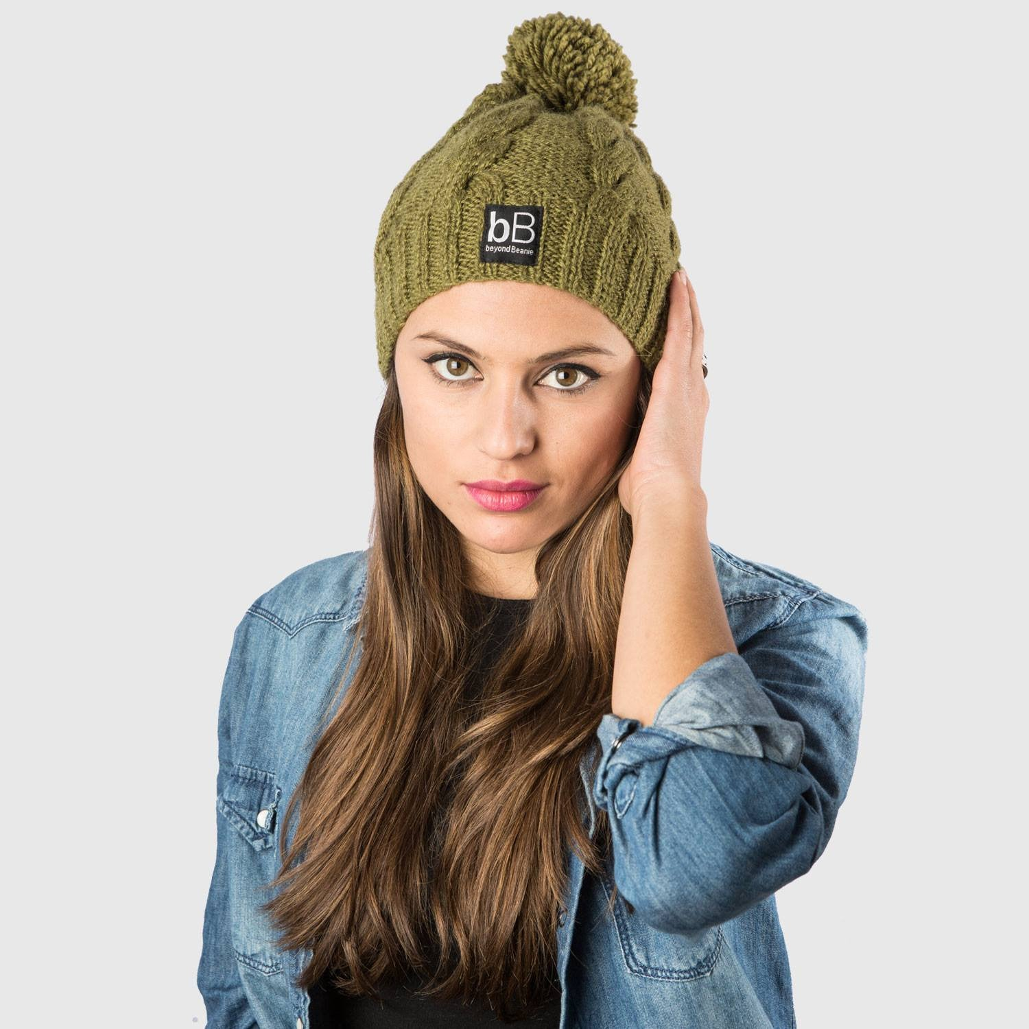8ee46f2f7f3 Green Cosmos  Handmade Beanie Crafted with Purpose - beyondBeanie
